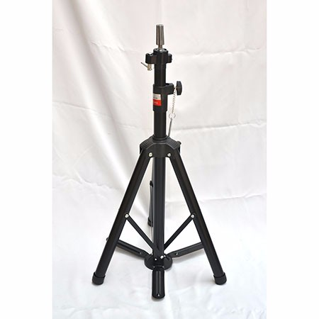 174-32带脚踏黑铁加粗管头模支架/最高工作高度170cm主管直径3.8cm